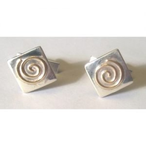 SPIRAL OF LIFE CUFF LINKS