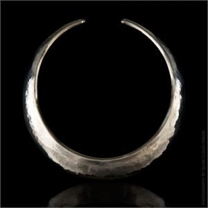 STERLING SILVER TORC