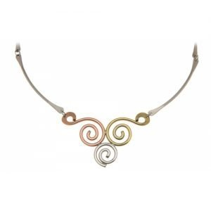 TRISCLE MIXED NECKLACE